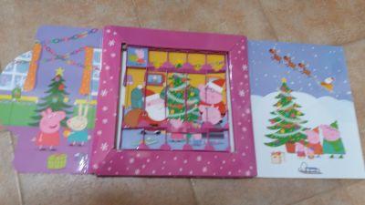 Pevné desky / ex. Adventní kalendář Peppa Pig - karton. obal