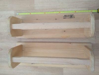 Dřevěná nízká bradla