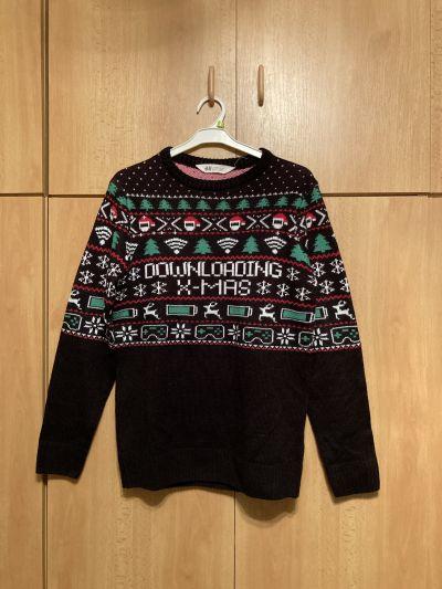 Vánoční svetr vel 158/164