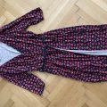 Zavinovací šaty s tenkým páskem zn. Orsay