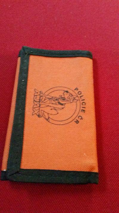 Peněženka oranžová