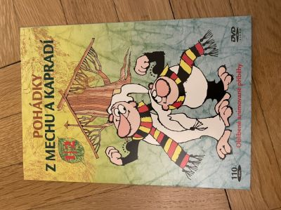 DVD Z mechu a kapradí