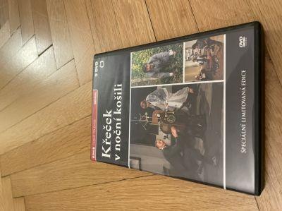 3 DVD Křeček v noční košili