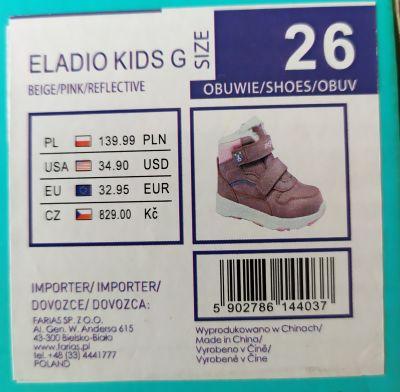 Dětské zimní boty 26