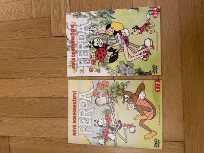2 DVD Ferda Nová dobrodružství