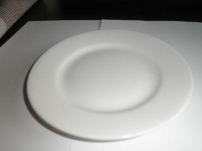 Talířek mělký bílý mini