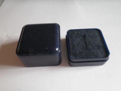 Krabička na šperk modrá