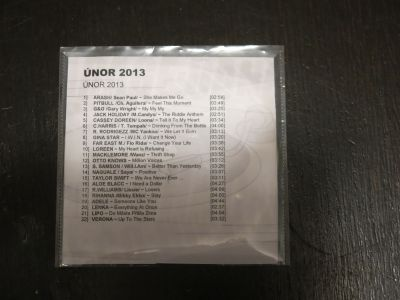 CD hudba mix