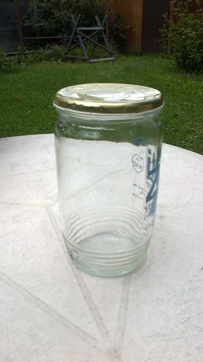 Zavařovací sklenice 650 ml - zamluveno