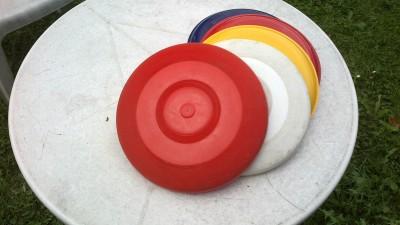 Talíře frisbee - zarezervováno