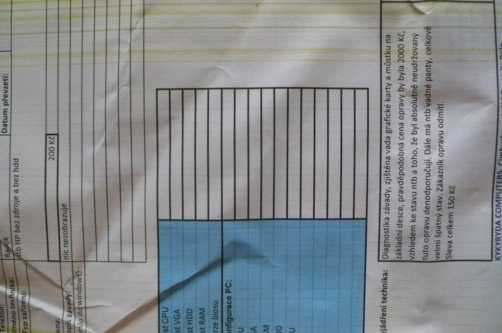 02c238169f Daruji za odvoz nefunkční notebooky na náhradní díly