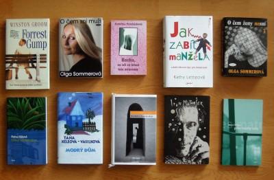 Celý balíček - knihy - beletrie