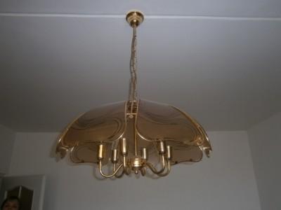 Daruji lustr + stojací lampu